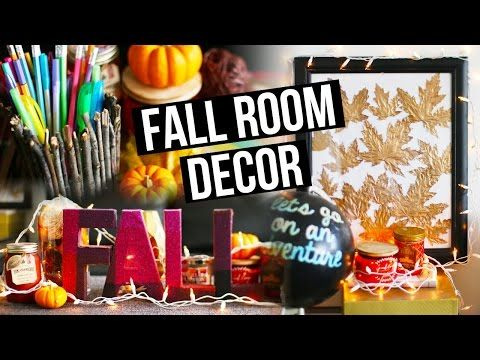 DIY Fall Room Decor, Organization & Decorating Ideas ! | LaurDIY - YouTube
