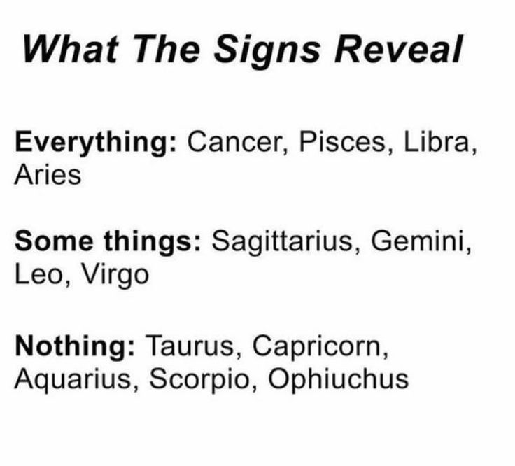 Yeah I dunno how I feel about the 13th sign...but hey, to each their own