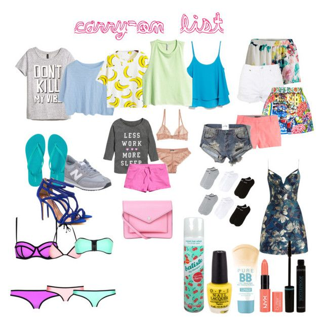 carry on by camillastefan1 on Polyvore featuring moda, Zimmermann, H&M, MANGO, Abercrombie & Fitch, VILA, adidas, Dolce&Gabbana, Topshop and Milly