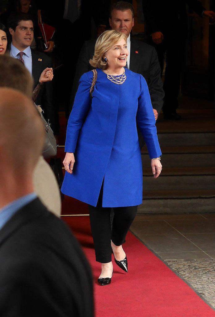Hillary Clinton's Style   POPSUGAR Fashion