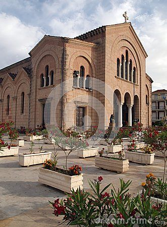 The Cathedral of Saint Dionysios, in Zakhyntos, in Greece
