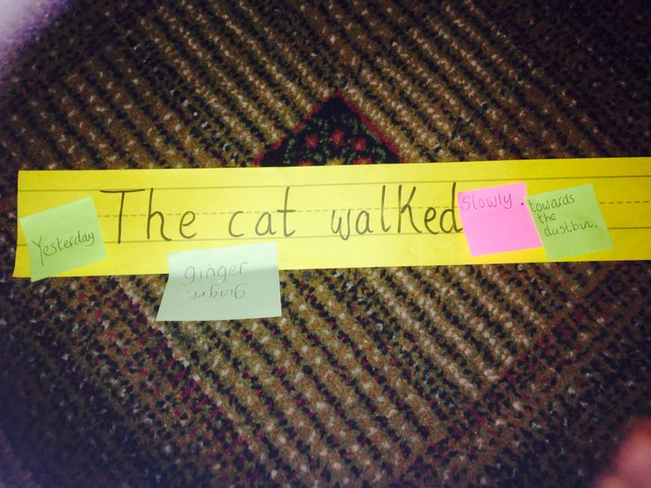 Play with the adverbs