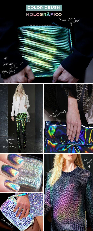 Holográfico com preto | Achados da Bia - http://www.achadosdabia.com.br/2012/09/21/color-crush-holografico/