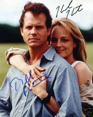 "Bill Paxton and Helen Hunt Autographs - ""Twister"" (1996)"