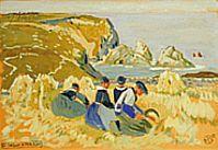 Mathurin Méheut: la moisson à Théolin (Musée de Lamballe).
