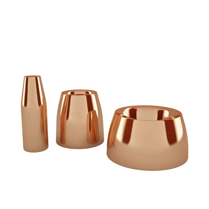 Free 3d model: Spun Vase Trio by Tom Dixon http://dimensiva.com/spun-vase-trio-by-tom-dixon/