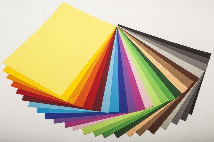 Papier couleur 130gr 25x35cm