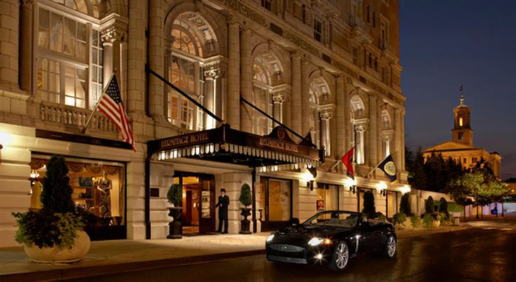 The Hermitage Hotel in Nashville has been ranked Top 100 Hotels in the world by Travel + Leisure