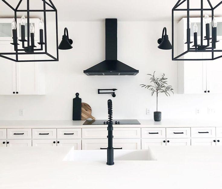Black vintage led kitchen lights barn lighting modern