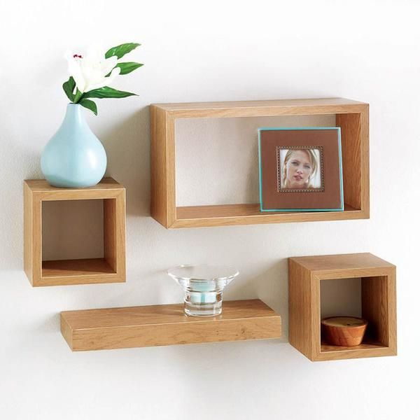 Salerno Set of 4 Floating Shelves. Visit us now and ENJOY 10% OFF + FREE SHIPPING on all orders - GBP13.99