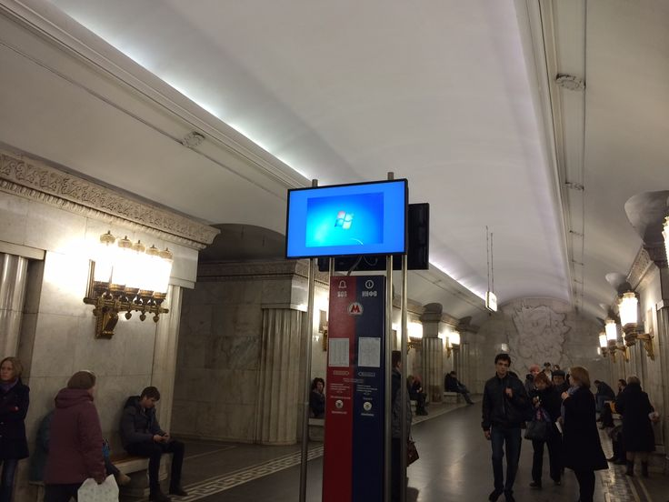 digital signage fails windows and PC as a mediaplayer bad  metro