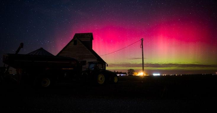 Explosões solares criam espetáculo de auroras boreais - Fotos - Ciência