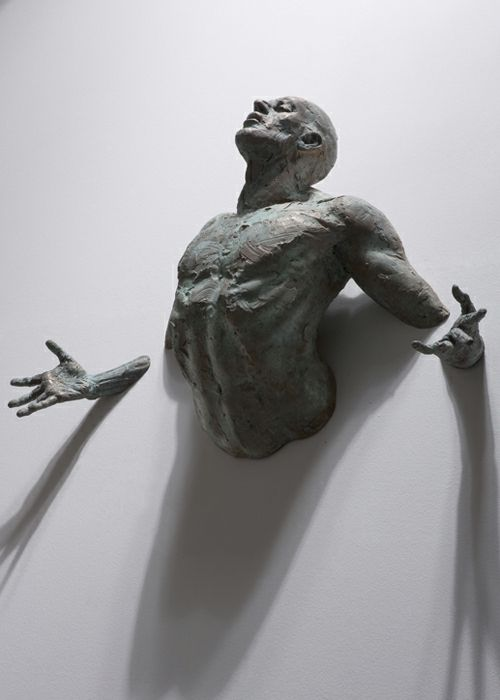 Incredible, realistic wall sculptures by Matteo Pugliese