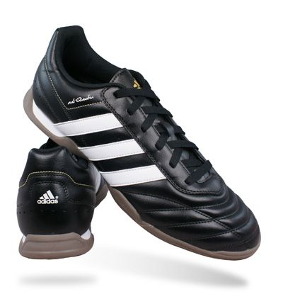 Adidas AdiQuestra IN Mens Football Trainers / Shoes - Black �29.95 FOR 10%  DISCOUNT