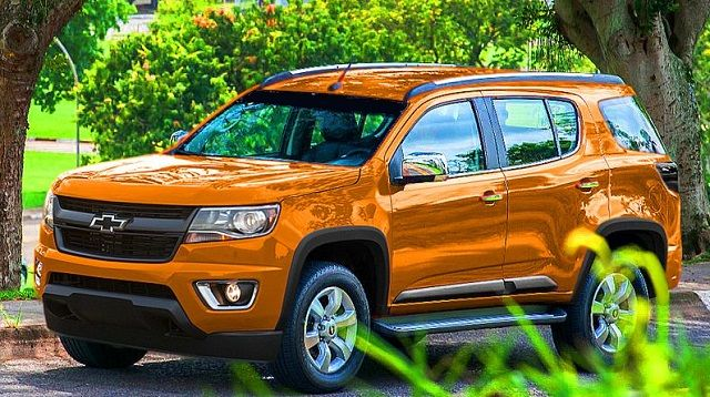 2016 Chevy Trailblazer front