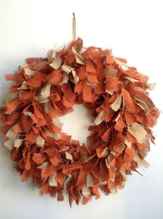134 Best Images About Burlap Wreaths On Pinterest Burlap