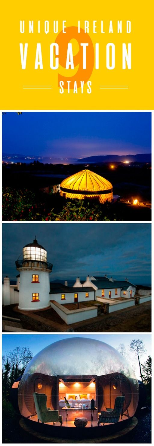 You can stay in a hotel anywhere in the world – but in Ireland, we offer a few more unique options. Why not try a grandiose castle, a picturesque lighthouse by the sea, or even a bubble dome that offers a 360-degree view of the lush forests of County Fermanagh? All of these places offer something curious, special, and well off the beaten track – our biggest problem is deciding which one to stay in first!