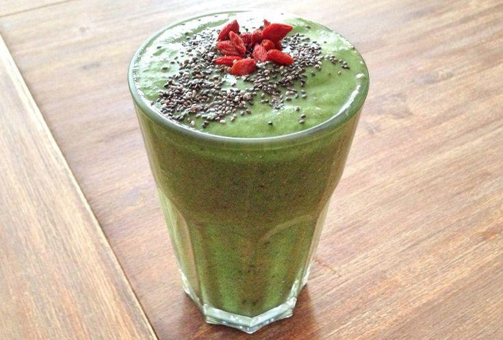 Recept || Mijn favoriete groene smoothie