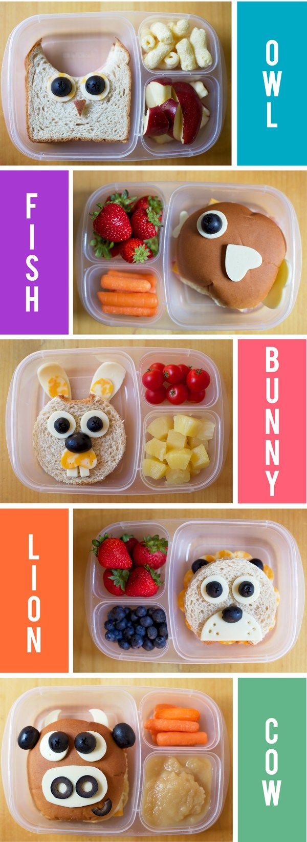 School Lunch Ideas - Back to School Kid's favorite lunches. This list is the best. Pin it now and make them later.