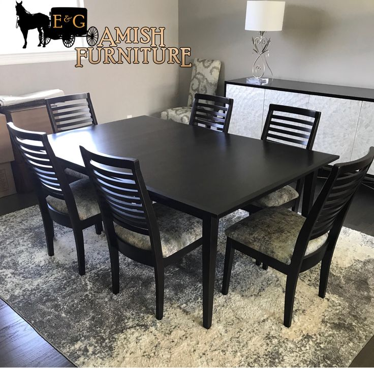 Turn Your Traditional Style Dining Room Into A Modern Contemporary Stylish Center Piece This Beautifully Custom Made Solid Wood Amish Table And