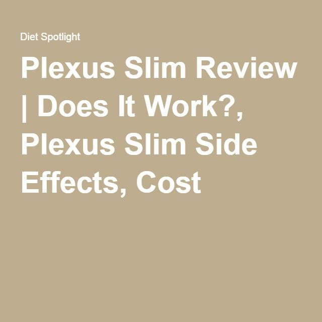 Plexus Slim Review | Does It Work?, Plexus Slim Side Effects, Cost