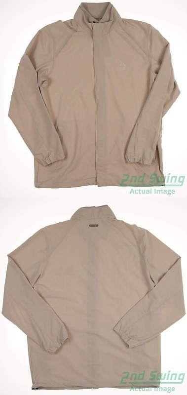 Other Mens Golf Clothing 181141: New W Logo Mens Ashworth Golf Stretch Wind Jacket Medium Khaki Msrp $90 Z09691 -> BUY IT NOW ONLY: $40.99 on eBay!