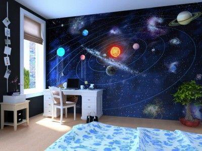 Kids-Room-with-Space-Wall-Mural-400x300.jpg (400×300)