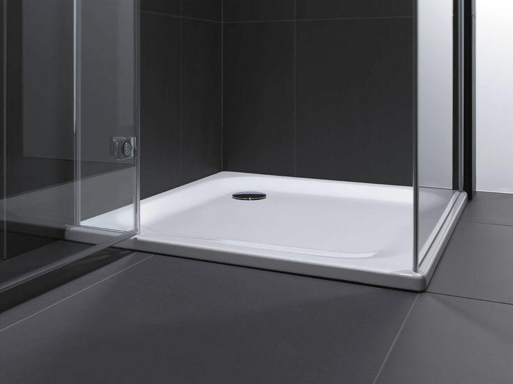 25mm steel shower tray from Bette Modern shower