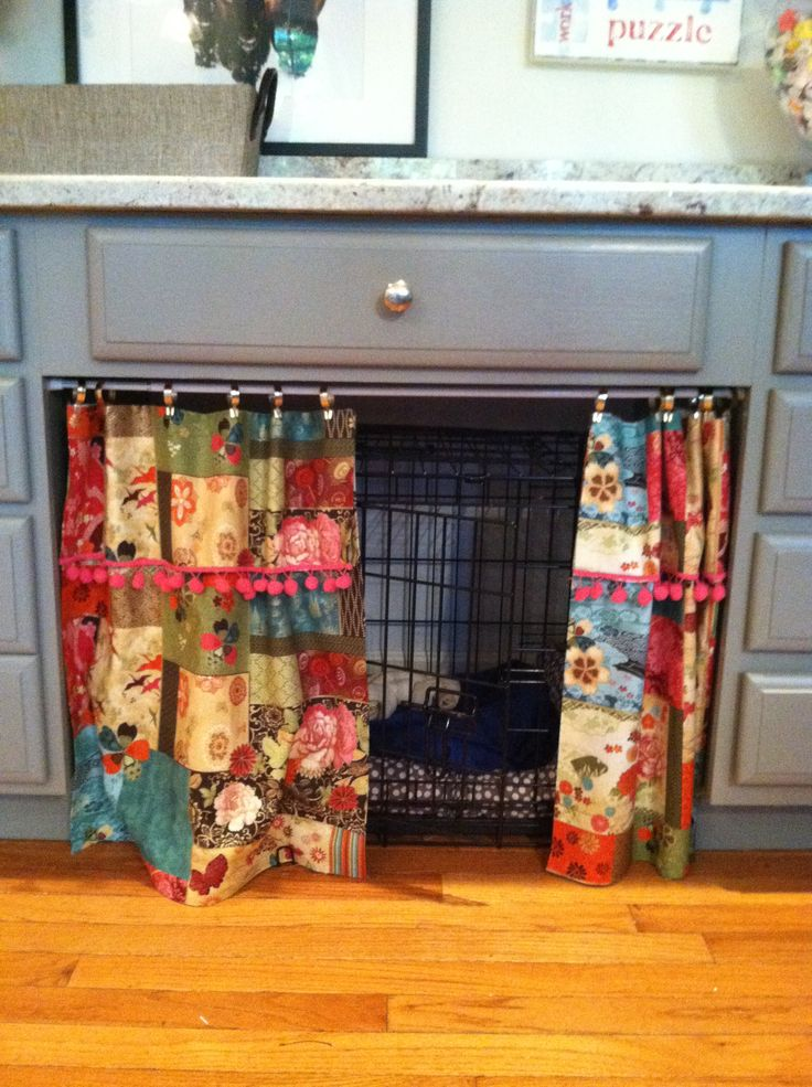 Nosew curtains for my dog kennel Small Projects