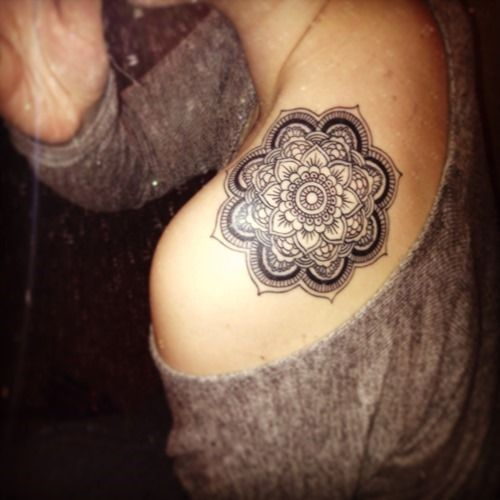 25 Amazing Mandala Tattoo Designs (15)