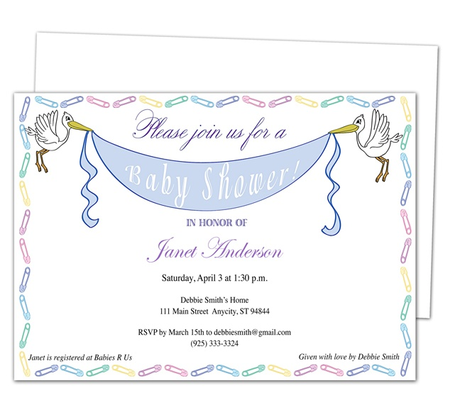 42 Best Images About Baby Shower Invitation Templates On