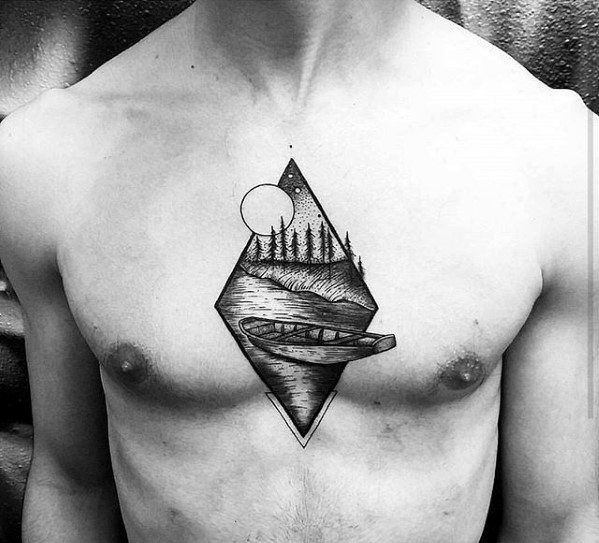 Best 25 small chest tattoos ideas on pinterest for Small chest tattoos for guys