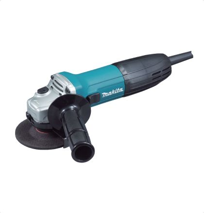 Makita GA4030 Angle Grinder     Small circumference barrel grip and ergonomically designed side grip angle for easy handling.     Labyrinth construction protects all ball bearings from dust and debris.     High quality motor with excellent heat-resistance.     Small gear housing provides easy handling and high maneuverability.     Field coated with powder varnish to protect from dust. For More Details: http://www.mrthomas.in/makita-ga4030-angle-grinder_51