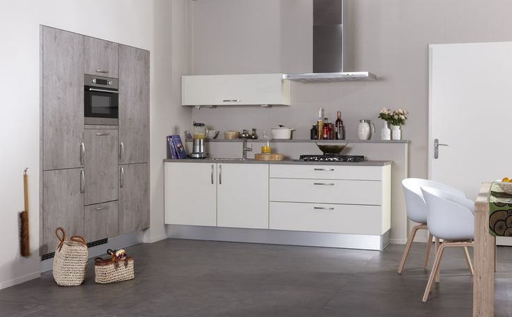 Bruynzeel Atlas keuken in het crème vanille met Robuust
