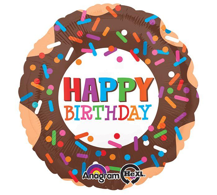 You're the Sprinkles to My Donut -- Happy Birthday! #burtonandburton #hbd #balloons #birthday #party #donutbirthday