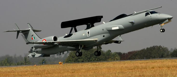 Indian Air Force Embraer AEW aircraft