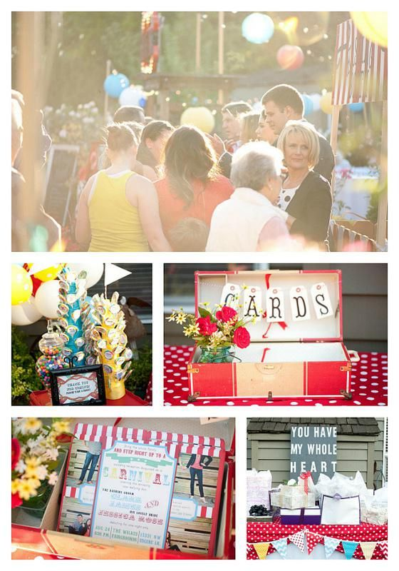 Simply In LOVE With This Carnival Themed Wedding Reception Via Karas Party Ideas