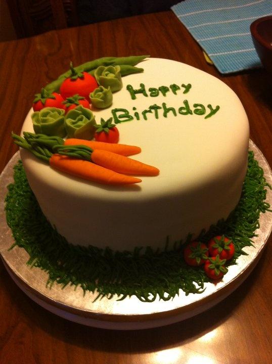 My Baba S Birthday Cake She Loves Gardening Whats Better