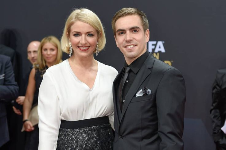 Philipp Lahm and his wife at Ballon d'Or Gala in Zürich 12.1.15