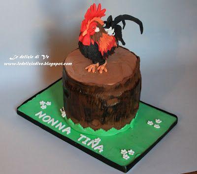 Le Delizie di Ve: ROOSTER CAKE