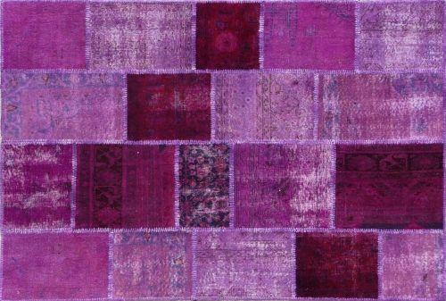 Alfombra Patchwork Morada de Arquinter. Para dar color a espacios modernos. 234x170cm