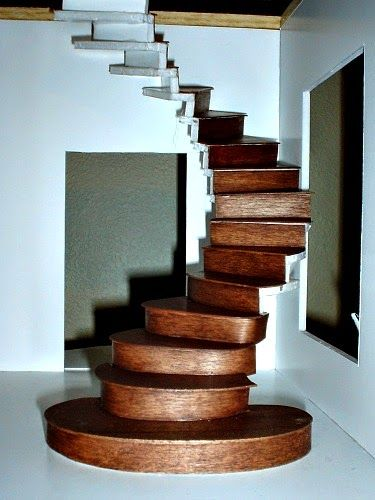 Tower Staircase Miniature : Best stair step tutorials images on pinterest