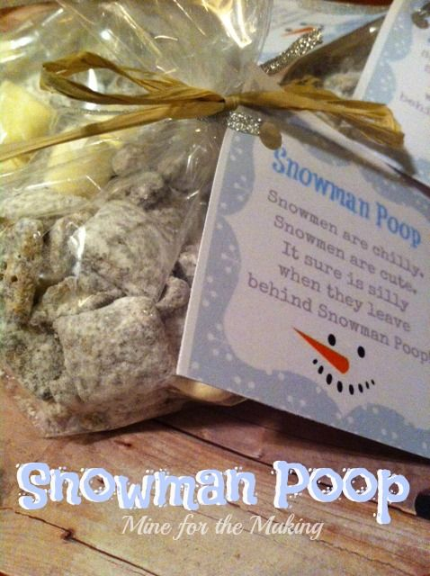 Food-a-licious Friday {102} Snowman Poop » Mine for the Making