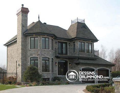 Les 90 meilleures images du tableau plans de maison style for Tous les plans de maison