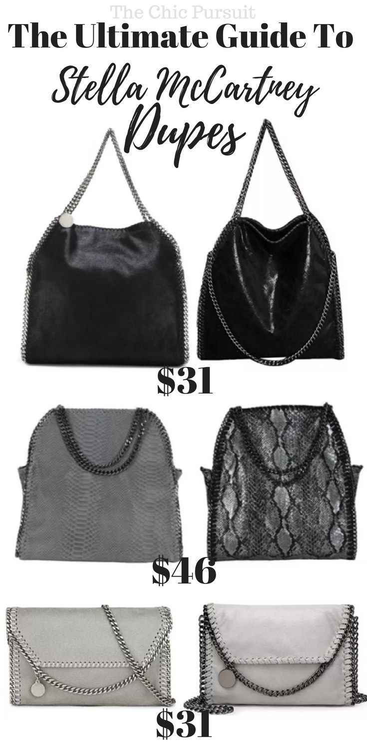 0d26473374b7 10 x The Best Stella McCartney Falabella Dupe (Under $50!)   Bags ...