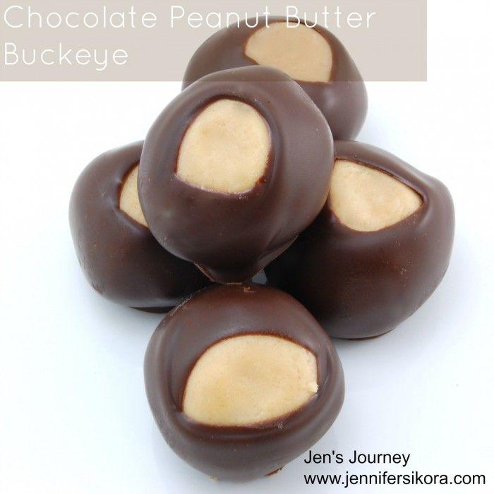 Chocolate Peanut Butter Buckeye Candy - Jen's Journey
