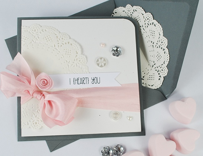 For the love of doilies (& the Simplest {Sweetheart} Sentiments!)