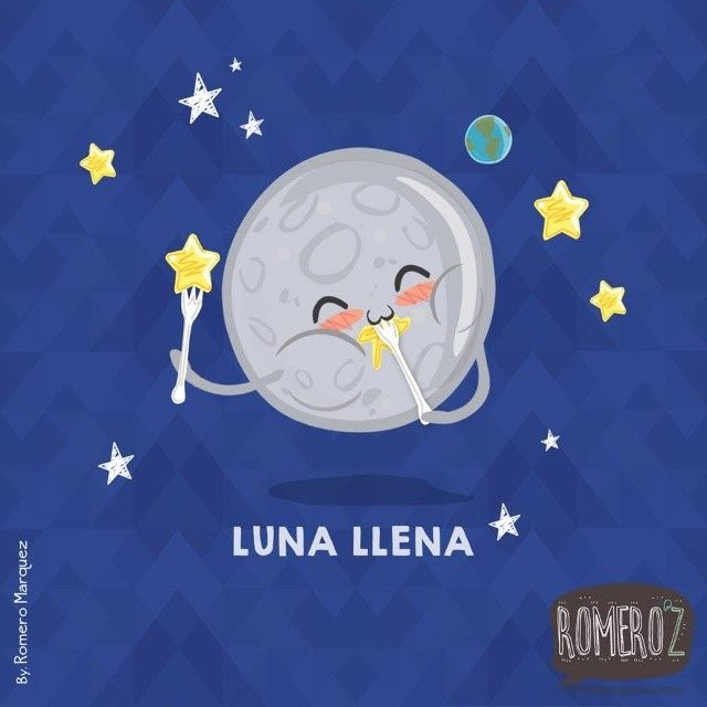 Luna llena - Happy drawings :) http://www.gorditosenlucha.com/
