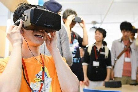 【バンタンゲームアカデミー】「触覚」でも楽しめるゲームって!? バーチャルリアリティ体験!@日本科学未来館