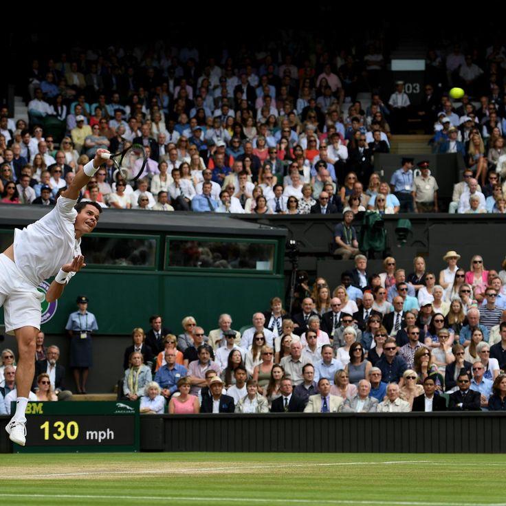 Federer vs. Raonic: Score, Highlights from Wimbledon Semifinals 2016 | Bleacher Report